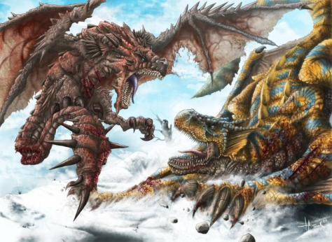 Ich fand schon immer, Monster sollten öfter miteinander Kämpfen.