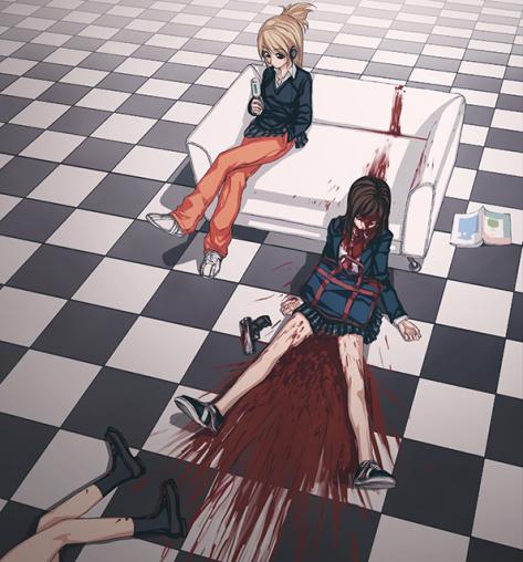 """Danbooru hat auch einen """"murder""""-Tag. Sasuga~"""