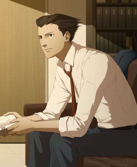 So einen Ace Attorney hätte ich wirklich gerne als Sekretär.