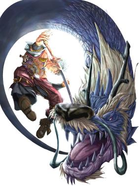 Dieses Monster sieht so cool aus, gibt es aber leider nicht in Monster Hunter.