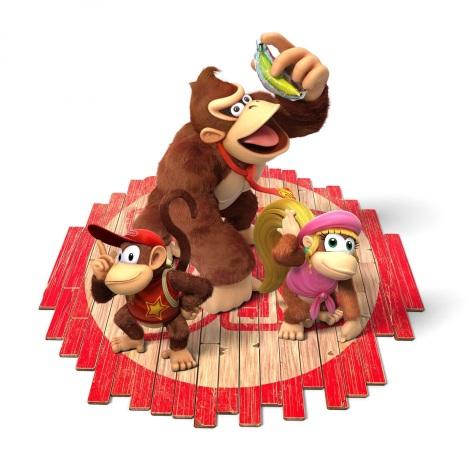 Donkey Kong und seine Crew