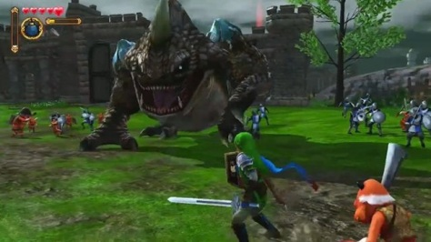 Hyrule Warriors - Ein Link gegen Horden von Dämonen.