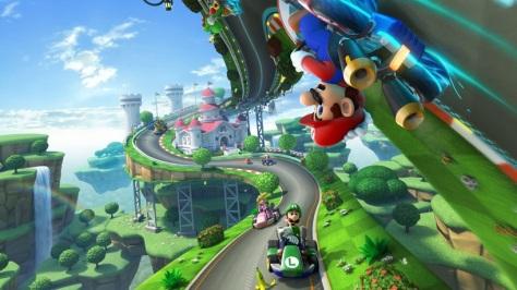 Mario Kart 8 - und der Spaß fährt buchstäblich durch die Decke!