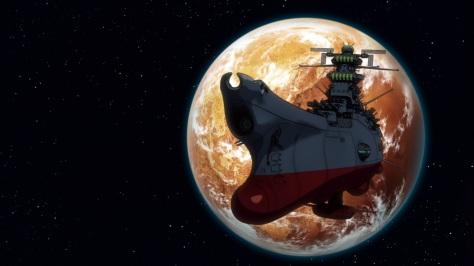 Das hier ist es, unser Space Battleshit Yamato.