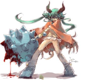 Ein epischer Kampf, Schnecke gegen Monster Girl!