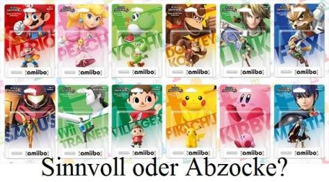 Amiibos, das Nintendo-Produkt, an dem sich die Geister scheiden.