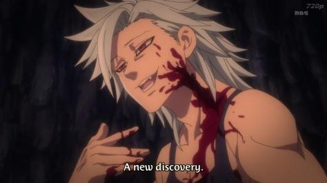 Bans Wunde. Seht ihr? So sieht eine Verletzung aus.