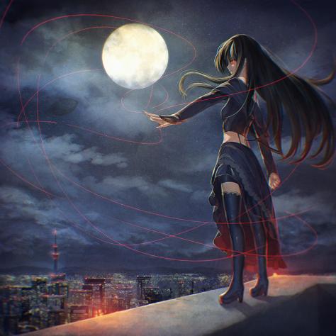 Durch den Namen habe ich eine Ausrede, einfach random Bilder mit Monden zu posten!