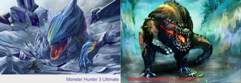 Monster Hunter Size Comparison
