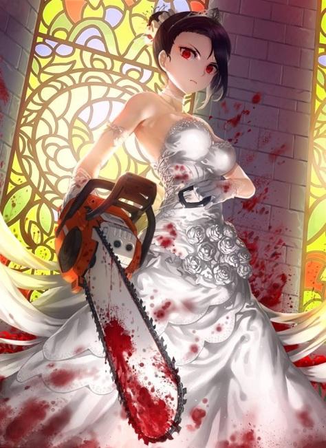 Also wenn eine Braut mit Kettensäge nicht epic ist, dann weiß ich auch nicht.