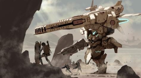 Xenoblade Battle Art
