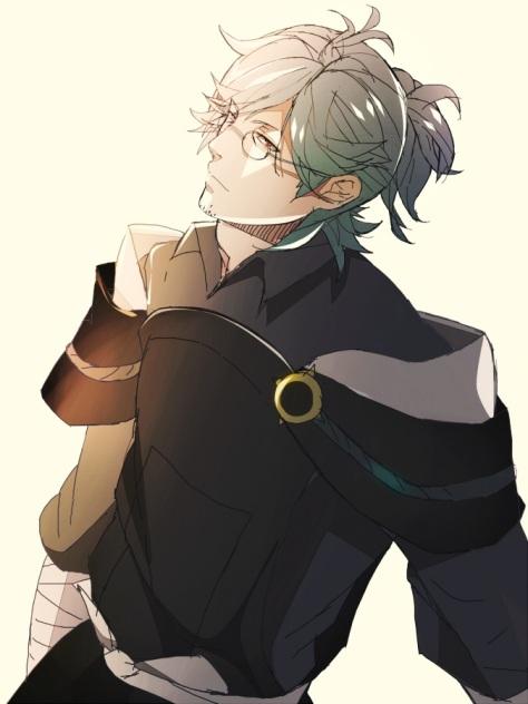 Yukimura ist jetzt nicht einer meiner Favoriten, aber in diesem Bild sieht er echt klasse aus.
