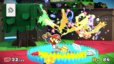Und auch in diesem Bild sieht man echt gut die Colors und auch den Splash. Jetzt aber im Kampf!